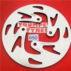 GAS GAS 250 TXT CONTACT 15 NG REAR BRAKE DISC GENUINE EO QUALITY UPGRADE 650