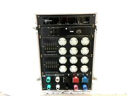 100a Motion Lab  Power Distro Main  with meter and (12) 20a 125v twist lock