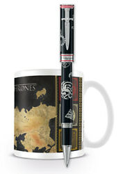 Montegrappa Game Of Thrones Westeros Special Edition Rollerball Pen Gift Mug