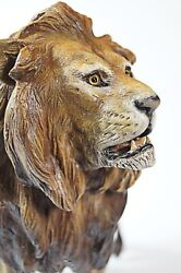 15 Vienna Bronze Lion Bergmann Coldpainted Signed Namgreb