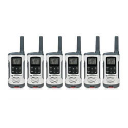 Motorola Talkabout T260tp 22 Channel 25 Mile Range Frs/gmrs Two Way Radio- 6pk