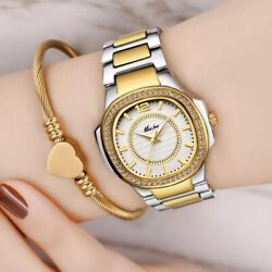 New Arrival 2019 Hot Selling Wrist Watches For Women Stainles Steel Gold Fashion