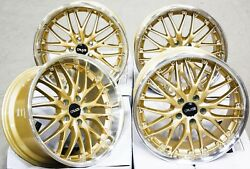Alloy Wheels 19 Cruize 190 Gdp Gold Polished Deep Dish Weight Rated 19 Inch