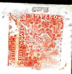 New Brunswick #1 -  design directly on the front - postage due ---code1147