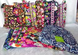 Nwt Vera Bradley Large Hipster In Your Choice Of Pattern With Free Shipping