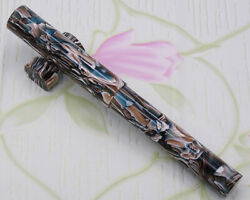 Liy Resin Awesome Fountain Pen Schmidt With Pen Pouch Holder Writing Gift -15