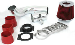 Gsp 3 Red Cold Air Intake Induction Kit + Filter For 95-99 Nissan Maxima 3.0l