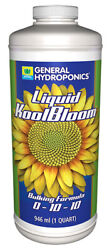 General Hydroponics Liquid KoolBloom 0 - 10 - 1 - Liquid Bloom Booster