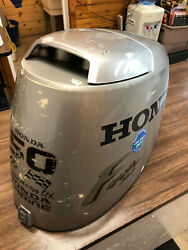 2001 Honda Bf 50 Hp 4 Stroke Outboard Motor Top Cowl Cover Hood Freshwater Mn