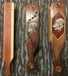 """Lot of 3 Collector Turkey Calls by Darrin Dawkins and the late """"Grandpa""""Ed Vasek"""