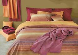 1346 Missoni Home Jill Rosso King Duvet Cover And 2 Shams 3pc Set Striped Italy