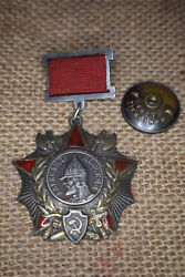 Russian Soviet Russia Ussr Medal Cccp Pin Order Of Nevsky With Research Type 1