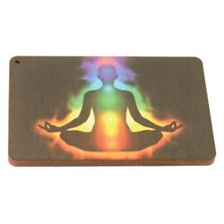 Incense Burners - Tray - Wooden Square Chakra - Wsch