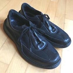 Barneys New York Shoes Soft Leather Made In Italy Menandrsquos Size 10 M Rubber Sole