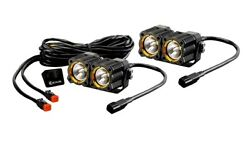 KC HiLiTES Flex LED Dual Pair Pack System Driving / Spread System (20 Watts)