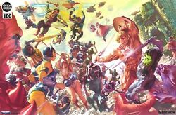 Sideshow Exclusive Alex Ross He-man Masters Of The Universe Framed Art Print Xm