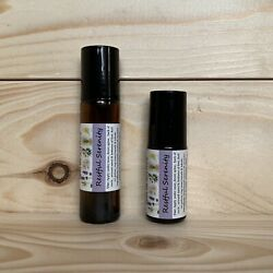 RESTFUL SERENITY Essential Oil Roller Blend Anxiety Mood Sleep Stress Anger Calm