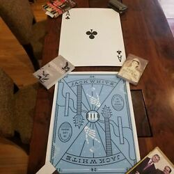 Jack White Ace of Clubs Poster Matthew Jacobson August 24th Las Vegas Nevada The