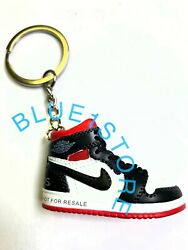 New Handcrafted Air Jordan 3D Sneaker Key chains yeezy supreme OFF jumpman bred