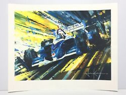 John Ketchell Almost There Limited Edition Giclee Art Print Paul Tracy Indy Cart