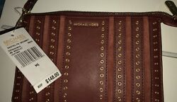 Small Michael Kors Clutch Designer Leather New WTags Great Gift Present Genuine