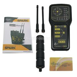 Spark Detector Long Range Gold Metal Detector With 2 Antennas Tzt-fast