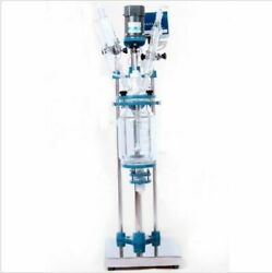 10l Chemical Lab Jacketed Glass Reactor Vessel Explosion Proof Customizable Y