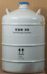 50l Cryogenic Container Liquid Nitrogen Ln2 Tank With Protective Sleeve Y