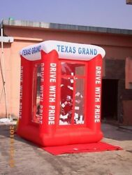 9and039 Inflatable Cash Cube Money Machine W/blowers Advertising Promotion Ur Logo