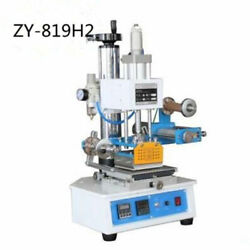 Zy-819h2 Small Workbench High Precision Pneumatic Hot Stamping Machine