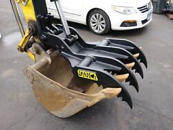 Manca Thumbs 24and039and039x42and039and039 Universal Weld On Hydraulic Excavator Thumb