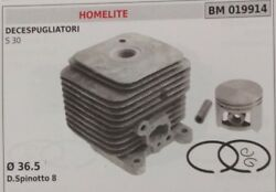 Cylinder And Piston Complete Trimmer Homelite S30 S 30 Ø 36,5
