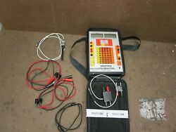 Promac Model Dht-830 Calibration Unit And Test Leads In Portable Pack