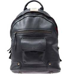 Will Shops Leather Goods Menand039s Silas Backpack Black One Size