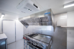 9' Food Truck Or Concession Trailer Exhaust Hood System With Fan