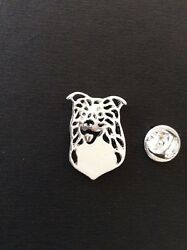 Border Working Collie Pin Brooch