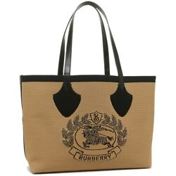 Burberry Large Londen England Canvas Tote NEW AUTHENTIC $799.00