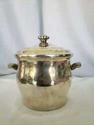 Wm Rogers And Son Paul Revere Silver Plate Ice Bucket