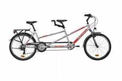 Bicycle Two Seats Atala Tandem Two Easy 2019 Shimano Turney Aluminium