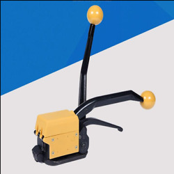 19mm Manual Taping Machine Can Straping Steel Belt Without Packing Clasp
