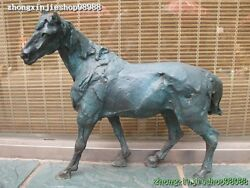 20western 100 Bronze Art Abstract Sculpture Of The Horse Decoration Statue