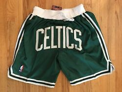 Boston Celtics Green Just Don Summer League Time Team Basketball Shorts