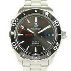 Free Shipping Pre-owned Tag Heuer Aqua Racer Air-k2 Limited Wak2112.ba0830