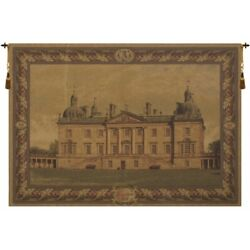Houghton Hall Palladian English Home Old Style European Tapestry Wall Hanging