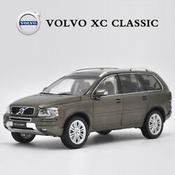 Original Volvo Xc Classic Brown 118 Scale Diecast Model Cars Collection