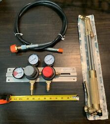*NEW* (FREE Co2 Gauges) HARRIS Cutting Torch 62-5  (Free Hose For Gauges)