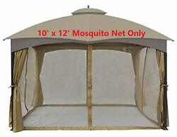 Universal Gazebo Mosquito Netting Cover Replacement Canopy 10x12 Best Allen Roth