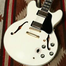 Gibson Memphis Limited Run 1964 ES-345 VOS Classic White New