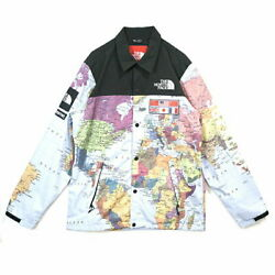 Supreme X The Expedition Coaches Jacket Map 2014ss Size M Used