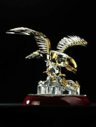 Asfour Crystal-falcon-homeandoffice Decor-business Gift-egypt Made- American Eagle